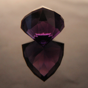 Amethyst, Amethyst Shield, #100 - Doug Menadue :: Bespoke Gems - Finest quality custom precision gemcutting based in Sydney, Australia