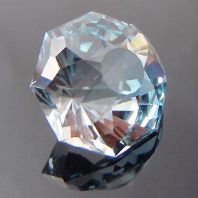 Natural Blue Topaz, OctaDome #8 - The Moroccan, O'Briens Creek, Mt Surprise, Australia, #104