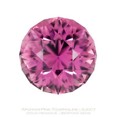 Pink Tourmaline, Antique SG1, #1040 - Doug Menadue :: Bespoke Gems - Finest quality custom precision gem cutting based in Sydney, Australia