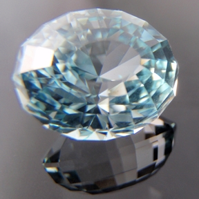 Natural Blue Topaz, Under The Dome #5, O'Briens Creek, Mt Surprise, Australia, #108 - Doug Menadue :: Bespoke Gems - Master gemcutter and lapidary artist specialising in fine custom cut precision gems from a wide range of select facet gem rough. Located in Sydney, Australia.