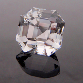 Topaz, Egyptian Asscher Cut, O'Briens Creek, Mt Surprise, Australia, #131