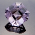 Rose de France Amethyst, Egyptian Asscher Cut, #135