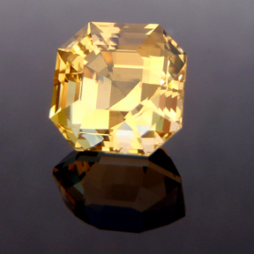 Citrine, Egyptian Asscher Cut, #139