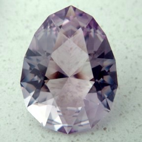 Rose de France Amethyst, Seven Main Pendaloque, #14 - Doug Menadue :: Bespoke Gems - Master gemcutter and lapidary artist specialising in fine custom cut precision gems from a wide range of select facet gem rough. Located in Sydney, Australia.
