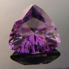Amethyst, Uruguay, Trouble With Tribbles, #148 - Doug Menadue :: Bespoke Gems