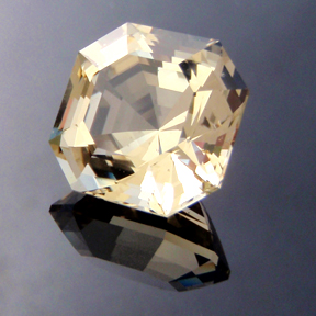 Asscher Cut Yellow Beryl, Asscher Cut, #150