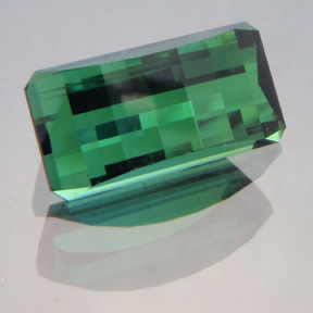 Green Tourmaline, Afghanistan, Smith Bar, #180 - Doug Menadue :: Bespoke Gems - Master gemcutter and lapidary artist specialising in fine custom cut precision gems from a wide range of select facet gem rough. Located in Sydney, Australia.