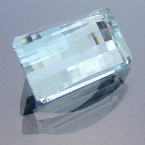 Aquamarine, Smith Bar, #191 - Doug Menadue :: Bespoke Gems - Finest quality custom precision gemcutting based in Sydney, Australia