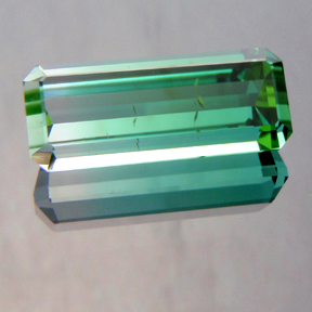 Green Tourmaline, Afghanistan, Smith Bar Variation, #194 - Doug Menadue :: Bespoke Gems - Master gemcutter and lapidary artist specialising in fine custom cut precision gems from a wide range of select facet gem rough. Located in Sydney, Australia.
