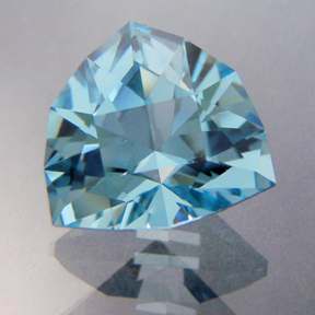 Natural Blue Topaz, Huntress, Brazil, #195