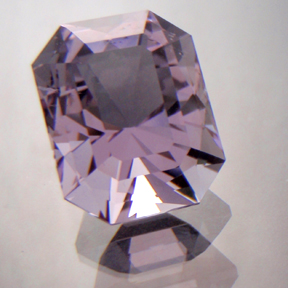 Rose de France Amethyst, Radiant Emerald, #196
