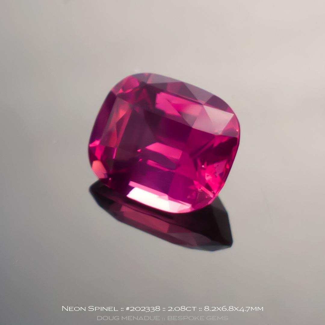 Natural spinel  2.08  carats