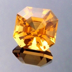 Asscher Cut Golden Citrine, Asscher Cut, #211