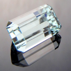 Aquamarine, Emerald Cut, #212