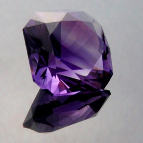Amethyst Uruguay, Flanders Brilliant, #214 - Doug Menadue :: Bespoke Gems - Master gemcutter and lapidary artist specialising in fine custom cut precision gems from a wide range of select facet gem rough. Located in Sydney, Australia.