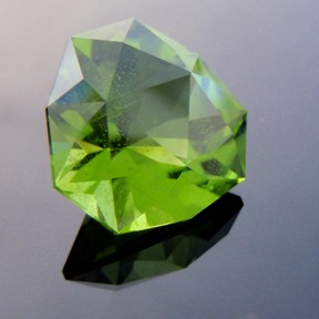 Pakistani Peridot, Crystal Tourmaline, #223 - Doug Menadue :: Bespoke Gems - Master gemcutter and lapidary artist specialising in fine custom cut precision gems from a wide range of select facet gem rough. Located in Sydney, Australia.