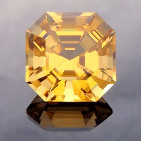 Golden Beryl, Asscher Cut, #236
