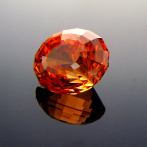 Fanta Orange Mandarin Spessartite Garnet, Under The Dome #5, #317