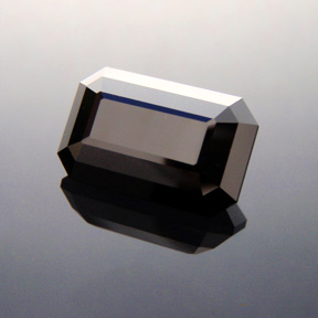Black Spinel, Emerald Cut, Central Queensland, Australia, #321