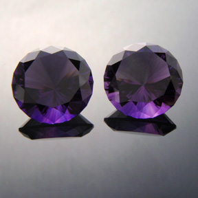 Amethyst (Matched Pair), Sunflare, #343