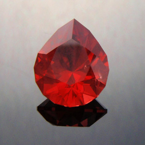 Spinel, Mahenge, Tanzania, Brilliant Pear, #359