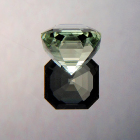 Light Green Tourmaline, Asscher Cut, Afghanistan, #363