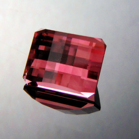 Pink Tourmaline, Nigeria, Smith Bar, #364 - Doug Menadue :: Bespoke Gems - Master gemcutter and lapidary artist specialising in fine custom cut precision gems from a wide range of select facet gem rough. Located in Sydney, Australia.