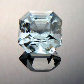 Aquamarine, Asscher Cut, #371