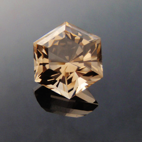 Smokey Quartz, Six Ray Star, #393