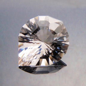 Natural Champagne Topaz, Maya Drop, O'Briens Creek, Mt Surprise, Australia, #432