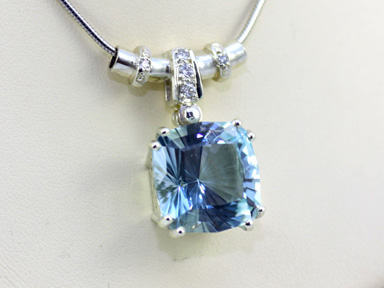 Natural Blue Topaz, #45