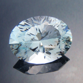 Natural Blue Topaz, Ten Main Oval, O'Briens Creek, #463
