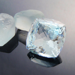 Natural Blue Topaz, Pharoah, Brazil, #469 - Doug Menadue :: Bespoke Gems - Finest quality custom precision gemcutting based in Sydney, Australia