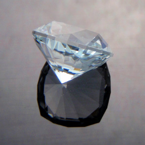 Natural Blue Topaz, Nigerian Cushion, O'Briens Creek, North Queensland, Australia, #493