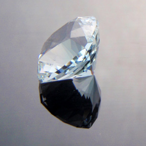 Natural Blue Topaz, Nigerian Cushion, O'Briens Creek, Australia, #494