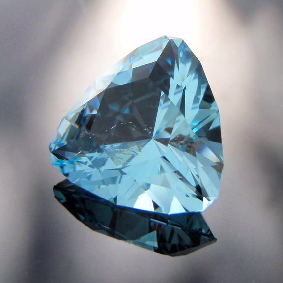 Blue Topaz, Asscher Cut, Pakistan, #517