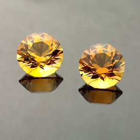 Citrine, SG1, #538 - Doug Menadue :: Bespoke Gems - Master gemcutter and lapidary artist specialising in fine custom cut precision gems from a wide range of select facet gem rough. Located in Sydney, Australia.