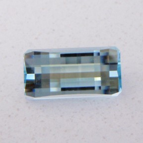 Topaz Natural Blue, Smith Bar, O'Briens Creek, Mt Surprise, Australia, #57 - Doug Menadue :: Bespoke Gems - Master gemcutter and lapidary artist specialising in fine custom cut precision gems from a wide range of select facet gem rough. Located in Sydney, Australia.