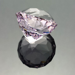 Rose de France Amethyst, Antique Round 1910, #574