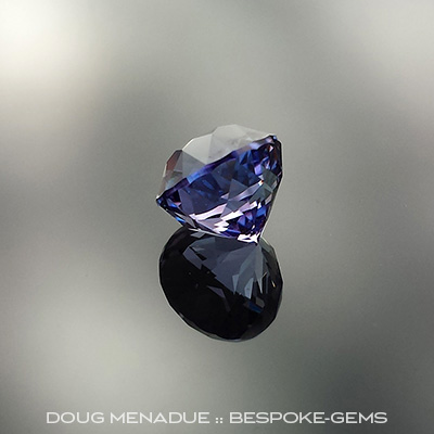Tanzanite, Antique Round, #650 - Doug Menadue :: Bespoke Gems - Master gemcutter and lapidary artist specialising in fine custom cut precision gems from a wide range of select facet gem rough. Located in Sydney, Australia.