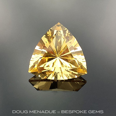 Golden Beryl, Signature #4, Brazil, #654 - Doug Menadue :: Bespoke Gems - Master gemcutter and lapidary artist specialising in fine custom cut precision gems from a wide range of select facet gem rough. Located in Sydney, Australia.