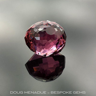 Tourmaline, Kalli Oval, #661 - Doug Menadue :: Bespoke Gems - Master gemcutter and lapidary artist specialising in fine custom cut precision gems from a wide range of select facet gem rough. Located in Sydney, Australia.