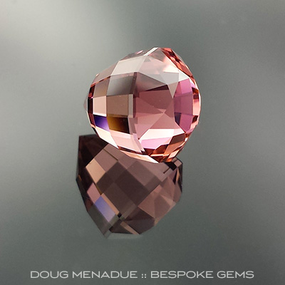 Tourmaline, Acorn, #672 - Doug Menadue :: Bespoke Gems - Master gemcutter and lapidary artist specialising in fine custom cut precision gems from a wide range of select facet gem rough. Located in Sydney, Australia.