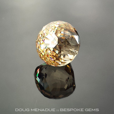 Zircon, Africa, #735 - Doug Menadue :: Bespoke Gems - Finest quality custom precision gemcutting based in Sydney, Australia