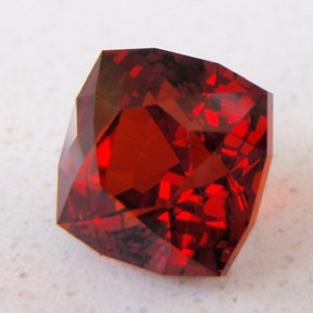 Garnet Spessartite, Deeply Ceylon Blue, #74 - Doug Menadue :: Bespoke Gems - Master gemcutter and lapidary artist specialising in fine custom cut precision gems from a wide range of select facet gem rough. Located in Sydney, Australia.