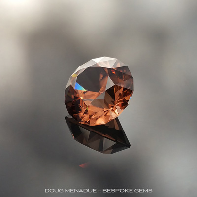 Zircon, SG1, #796 - Doug Menadue :: Bespoke Gems - Finest quality custom precision gemcutting based in Sydney, Australia