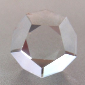 Topaz, Dodecahedron, O'Briens Creek, Mt Surprise, Australia, #82