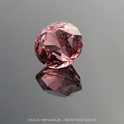 Pink Tourmaline, Antique Round Royale, #888 - Doug Menadue :: Bespoke Gems - Finest quality custom precision gemcutting based in Sydney, Australia