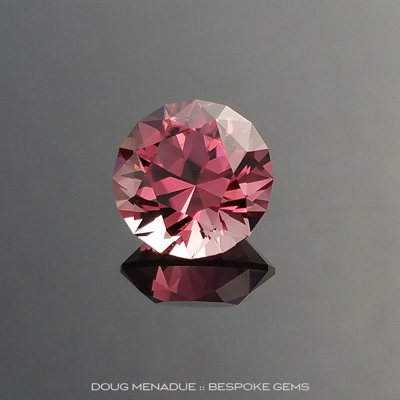 Pink Tourmaline, Brilliant Royale, #889 - Doug Menadue :: Bespoke Gems - Finest quality custom precision gemcutting based in Sydney, Australia