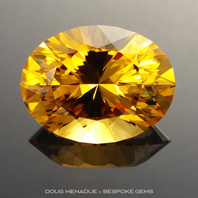 Golden Honey Citrine, Brazil, Ten Main Oval, #893 - Doug Menadue :: Bespoke Gems - Finest quality custom precision gemcutting based in Sydney, Australia